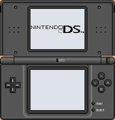 Nintendo DS lite [black] by BLUEamnesiac
