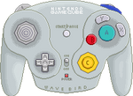 Nintendo Gamecube Wave Bird Controller