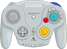 Nintendo Gamecube Wave Bird Controller by BLUEamnesiac