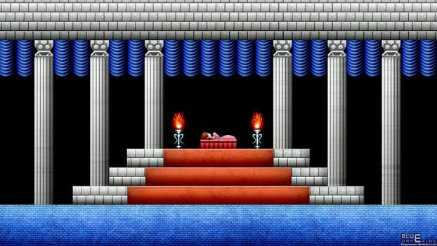 Zelda II: Sleeping Zelda Wallpaper