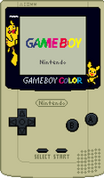 Game Boy Color [Pokemon 3] by BLUEamnesiac
