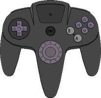 Ultra 64 Prototype Controller by BLUEamnesiac