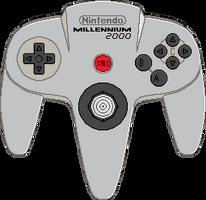 Nintendo 64 Millennium 2000 Controller by BLUEamnesiac