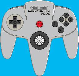 Nintendo 64 Millennium 2000 Controller