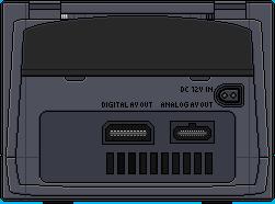 Nintendo Gamecube [Back] by BLUEamnesiac