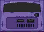 Nintendo Gamecube [Back] Indigo