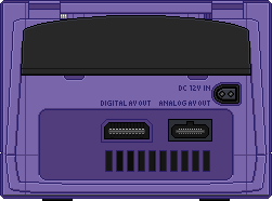 Nintendo Gamecube [Back] Indigo by BLUEamnesiac