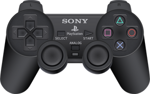 Sony PlayStation 2 Controller by BLUEamnesiac