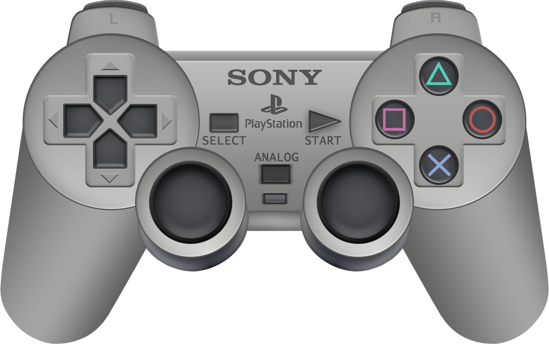 Playstation 1 Controller Drawing | www.pixshark.com