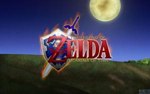 Ocarina of Time HD Wallpaper by BLUEamnesiac