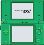 Nintendo DSi [green] by BLUEamnesiac