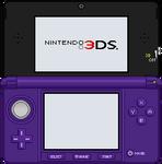 Nintendo 3DS [Midnight Purple]