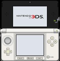 Nintendo 3DS [Ice White] by BLUEamnesiac