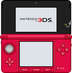Nintendo 3DS [Metallic Red]