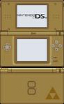 Nintendo DS Lite [Phantom Hourglass Gold]