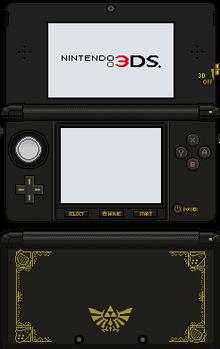 Nintendo 3DS [Ocarina of Time]