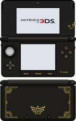Nintendo 3DS [Ocarina of Time] by BLUEamnesiac