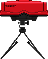 Virtual Boy by BLUEamnesiac