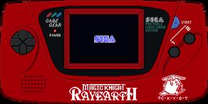Sega Game Gear [Magic Knight Rayearth]