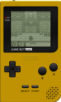Nintendo Game Boy Pocket [Yellow] by BLUEamnesiac