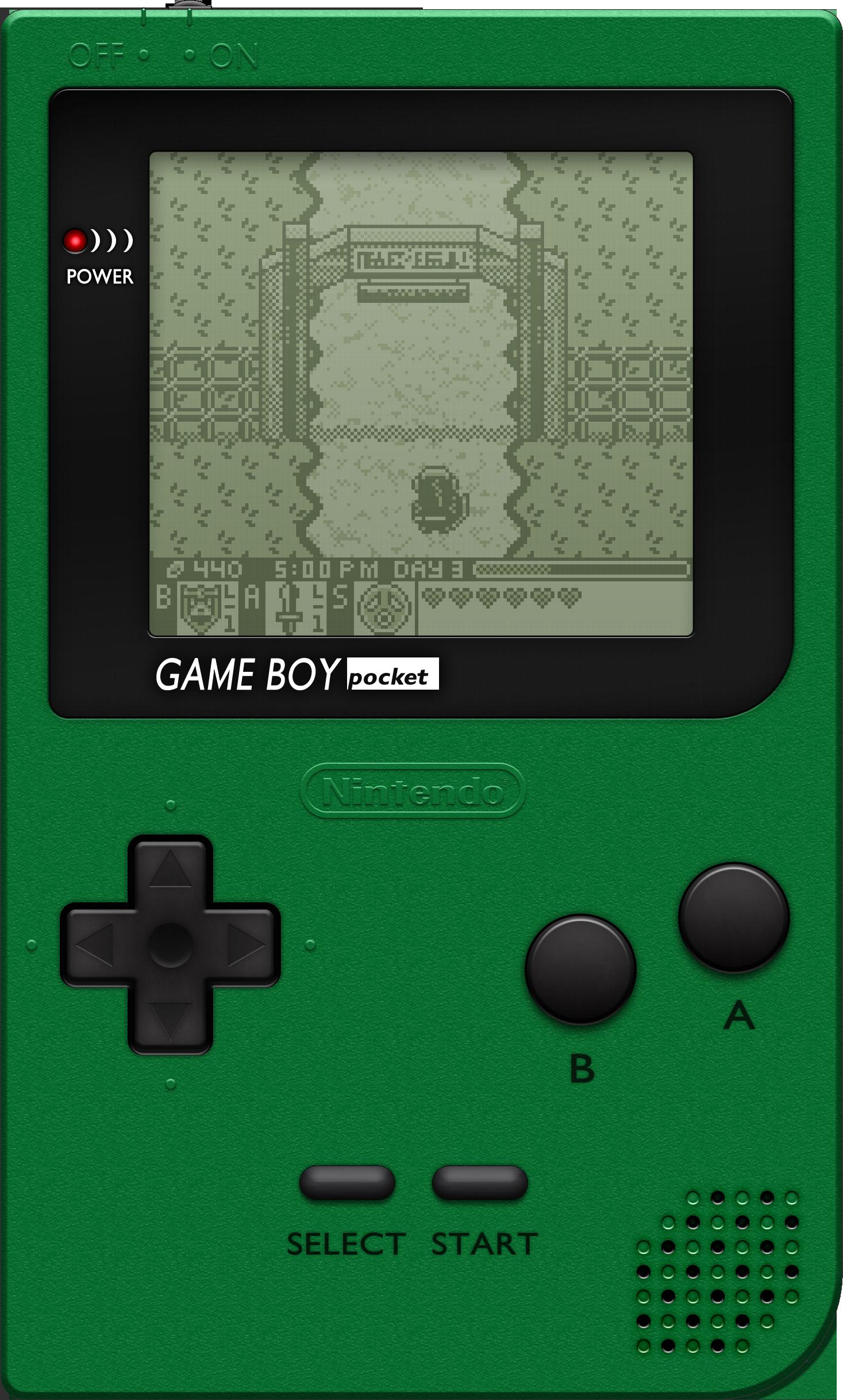 Game boy color palette - Blueamnesiac 24 13 Nintendo Game Boy Pocket Green By Blueamnesiac