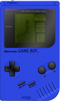 Nintendo Game Boy [Cool Blue] by BLUEamnesiac
