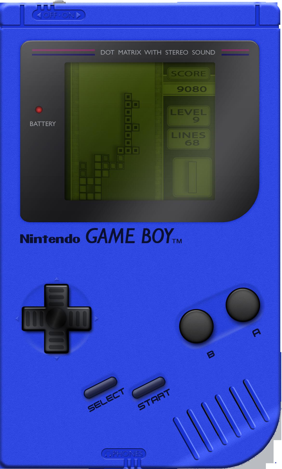 blue game boy wallpaper - photo #3