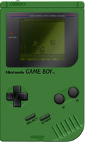 Nintendo Game Boy [Green] by BLUEamnesiac
