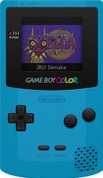 Nintendo Game Boy Color [Teal] by BLUEamnesiac