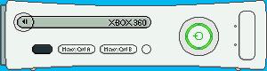XBOX 360 Pro by BLUEamnesiac