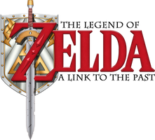 A Link to the Past Logo by BLUEamnesiac