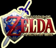 Ocarina of Time Logo by BLUEamnesiac