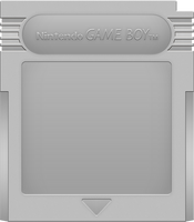 Nintendo Game Boy Cartridge [Silver]