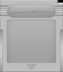 Nintendo Game Boy Cartridge [Silver] by BLUEamnesiac