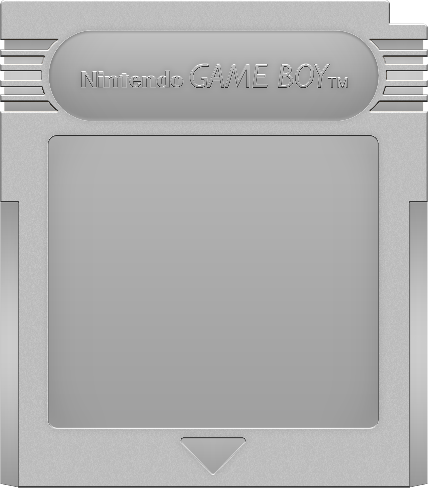 Nintendo Game Boy Cartridge [Silver]