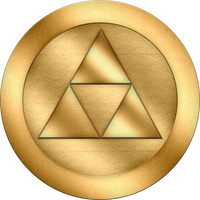 Triforce Token by BLUEamnesiac