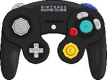 Nintendo Gamecube Controller [black] by BLUEamnesiac