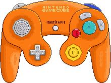 Nintendo Gamecube Controller [Spice] by BLUEamnesiac