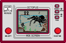 Game and Watch [OCTOPUS] by BLUEamnesiac