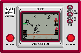 Game and Watch [CHEF] by BLUEamnesiac