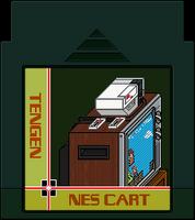 TENGEN NES Cart by BLUEamnesiac