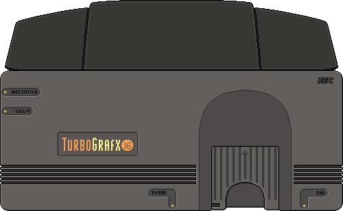 Turbo Grafx 16 by BLUEamnesiac