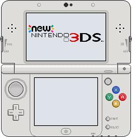 New Nintendo 3DS [White] by BLUEamnesiac