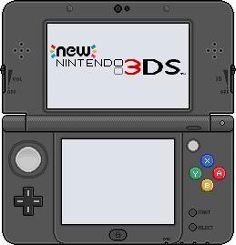 New Nintendo 3DS [black] by BLUEamnesiac