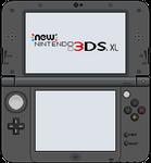 New Nintendo 3DS XL [Metallic Black]