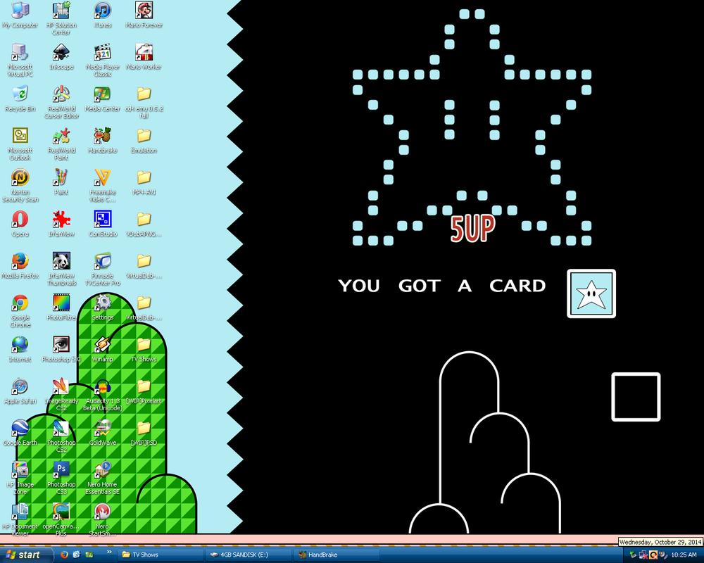 My Desktop 10.29.2014 by BLUEamnesiac