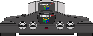 Nintendo 64 by BLUEamnesiac