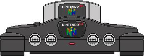 Nintendo 64 by BLUEamnesiac