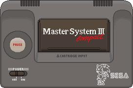 Sega Master System III by BLUEamnesiac