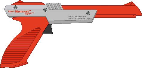 Nintendo Zapper by BLUEamnesiac